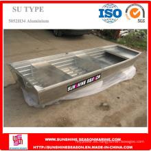 Barco de aluminio para la pesca y el ocio tipo Su (SU-20)