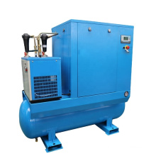 APCOM Low Noise Compresseur rotary aircompressors 10bar 145psi 15KW 20HP combined  22kw air dryers screw compressor 30hp