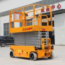 Usine vente directe mobile ascenseur à ciseaux ascenseur électrique à ciseaux Chine