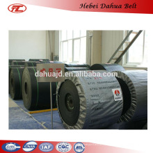 DHT-114 ISO9001 fire resistant rubber belts conveyor system