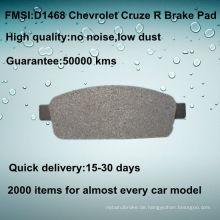 Hinterer Chevrolet Cruze Bremsbelag D1468