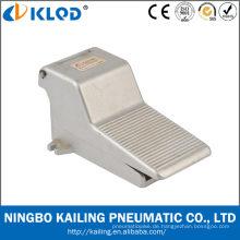 3/2 Legierung Art und Weise Material pneumatische Fuß Kontrolle Ventil FV320