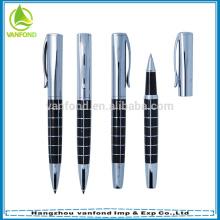 Lujo promoción libre tinta la pluma del rodillo a la firma regal pluma líquida elegante