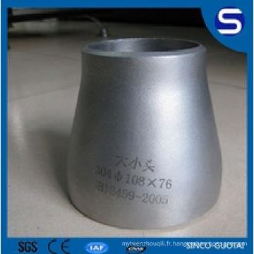 ANSI B16.9 Butt Welding concentrique / excentrique réducteur