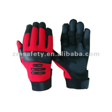 PVC Palm Reinforced Mechanics Glove For Extra Protection HYM19