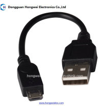 Am Micro de 5 pines de transferencia de datos y carga de cable USB 2.0