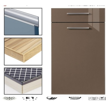 Lacquer Kitchen Cabinet Doors with Handles (customized)