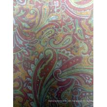 Gedrucktes Polyester Twill Futter Stoff für neueste Kleidungsstücke