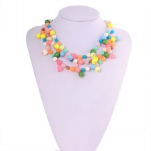 2015 Latest Design Colorful Plastic Beads For Wedding Gifts
