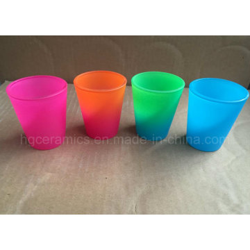 Neon Color Shot Glass, Rainbow Color Shot Glass