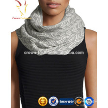 Winter knitted cashmere snood scarf neck scarf