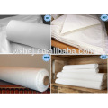 cheap 280cm white Percale fabric for hotel and hospital sheets