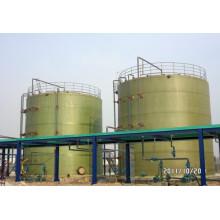 Réservoir horizontal ou vertical composite
