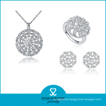 Fashion European 925 Sterling Silver Jewelry Set for Discount (J-0059)