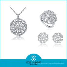 Классический 925 стерлингового серебра AAA Качество камень ожерелье (Ю-0059)