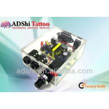 2013 nouvelle arrivée jolie forme acrylique design tatouage alimentation