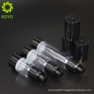 Recycled airless cosmetic pump bottle 1oz 30ml airless bottles for cosmetic