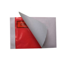 regular size for Invoice enclosed with red film