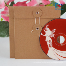 Großhandel brauner Kraftpapierverpackungskasten für DVD