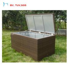 Coussin avec couvercle en aluminium pour jardin (CZ8039-2)