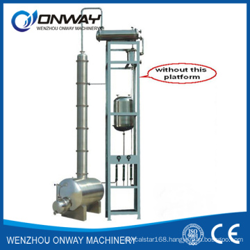 Jh Hihg Efficient Factory Price Stainless Steel Solvent Acetonitrile Ethanol Alcohol Distillery Equipments Alcohol Recycle Distiller