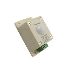 DC12-24V 8A PIR Switch LED Light Infrared PIR Motion Sensor Switch for led lamp strip lighting automatic controller