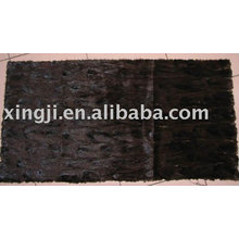 China supplier wholesale mink fur plate mink scraps plate