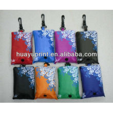 2012 rept folding polyester bag & shoping bag & folding polyester bag