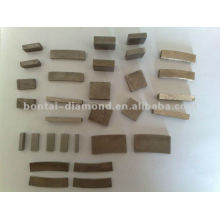 different shape of diamond segments for saw blade and abrasive tools