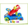 Multifunctional Toys 4 Wheels Ride on Car Educational Toys Baby Walker