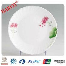 "Spin Shape Glassware 10 ""Opal Plate Wholesale"