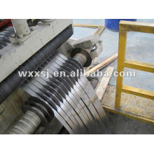 metal steel sheet slitting machine line with decoiler and recoiler