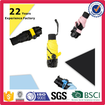Looking for Black Lemon Nano Umbrella Nano 5 Fold Umbrella 99% UV Light Promotion