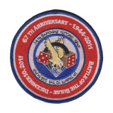 Custom Embroidered Patches Made by Twill with PVC Backing