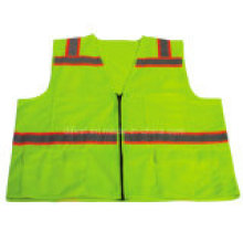 Factory Hot Sale Emergency Reflective Safety Vest with Four Pockets