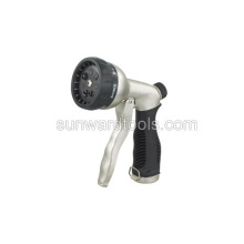 Multi-pattern front trigger metal spray gun