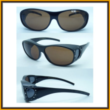 Sg15001 New Disign Fashion Diamond Safety Glasses, Goggle