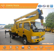 Camión plataforma alta Dongfeng 4 * 2 14m