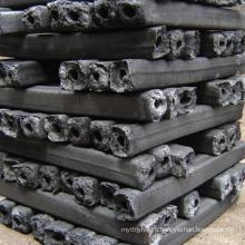 Carvão vegetal de madeira de forma hexagonal compradores em dubai máquina feita de carvão