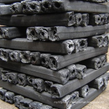 Более высокой температурой горения барбекю брикет из опилок древесный уголь