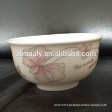 pequeño recipiente seguro de cerámica para microondas