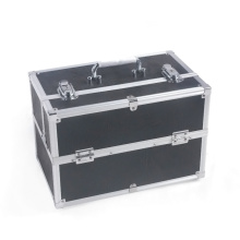 Black Makeup Case for Women Cosmetic Case (HX-W2917)