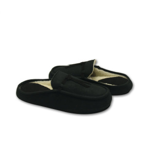 OEM Factory for Women'S Suede Moccasins best hotel bedroom black slippers for ladies export to Netherlands Exporter