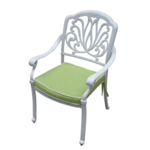 Cadeira de jardim de Metal fundido de alumínio conjunto mobília ao ar livre do pátio