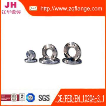 Flange de aço carbono de 150LBS Ss400 4inches