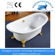 Acrylic clowfoot  bathtub freestanding tubs