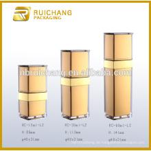15ml / 30ml / 50ml Acryl-Creme-Glas / Flasche, Quader-Acryl-Creme-Glas / Flasche