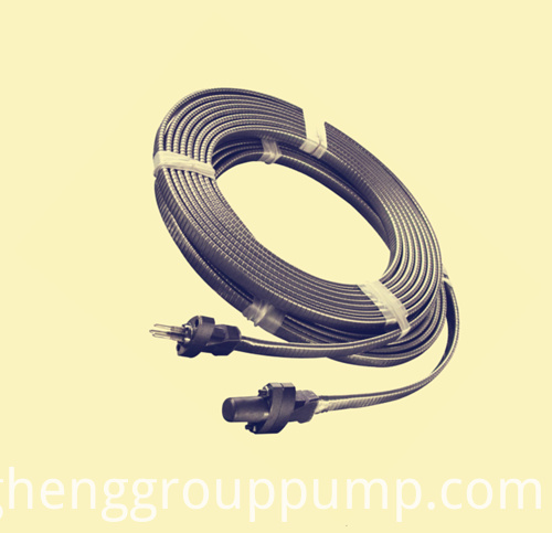 Galvanized steel band lead cable