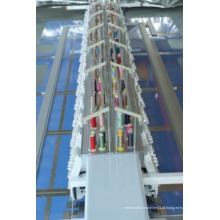 Lejia 15 cabeças máquina de bordar plana de dois lados