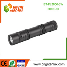 Factory Wholesale Emergency Night Used Outdoor High Power 3W Cree led Rechargeable 18650 Flashlight Torch